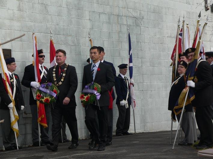 Remembrance Day Parade, Bradford West Gwillimbury, Nov. 11, 2012