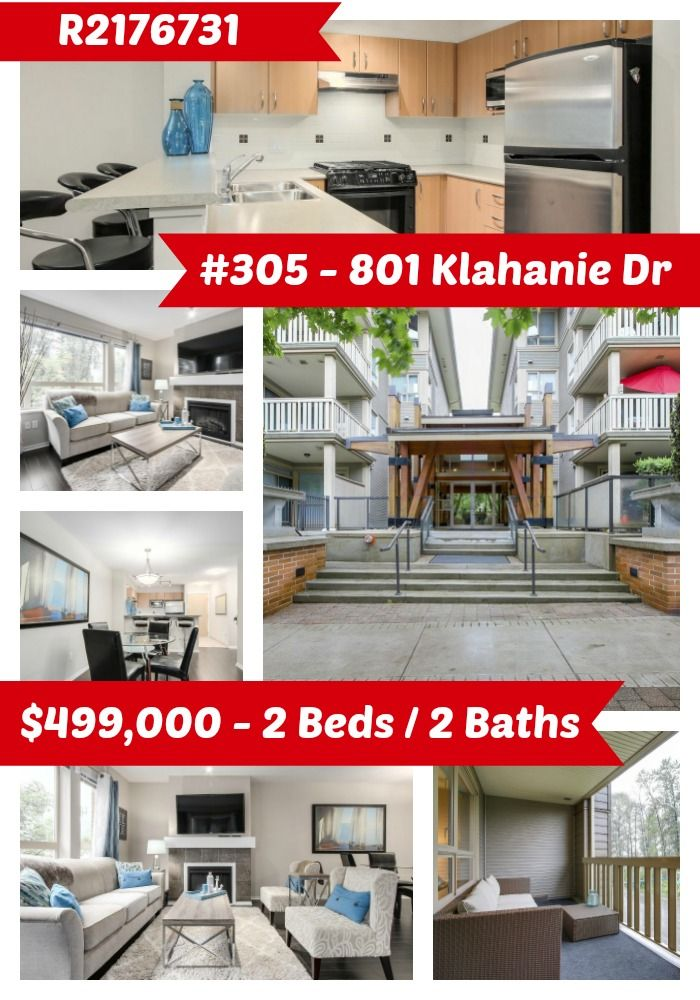 It's time to start living in one of the best locations, Klahanie! Quality built by Polygon, this well laid out 2 bed/2 bath condo is waiting for you! Open concept living space with a great kitchen featuring a gas stove! Large master bedroom with walk-in closet. Nice size balcony to enjoy the outdoor space. Owners have exclusive use of the Canoe Club, a facility of over 15,000 square feet of incredible amenities including an outdoor pool, hot tub, tennis courts, fitness centre plus much more…
