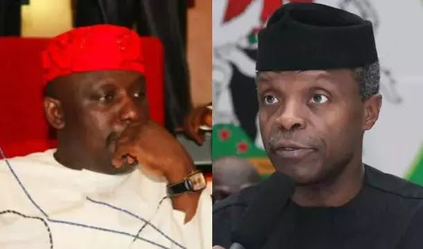 BREAKING NEWS: OKOROCHA SENDS POWERFUL MESSAGE TO BUHARI AND OSINBAJO   Governor Rochas Okorocha of Imo state on Tuesday February 14 decried the alleged marginalization of the South-East.  According to him there is nothing to show that the region is part of the Nigerian project Vanguard reports.  Okorocha made this known during the one-day working visit of Acting President Yemi Osinbanjo on Tuesday February 14.  Okorocha says there is nothing to show Igbo land is part of Nigeria  The…