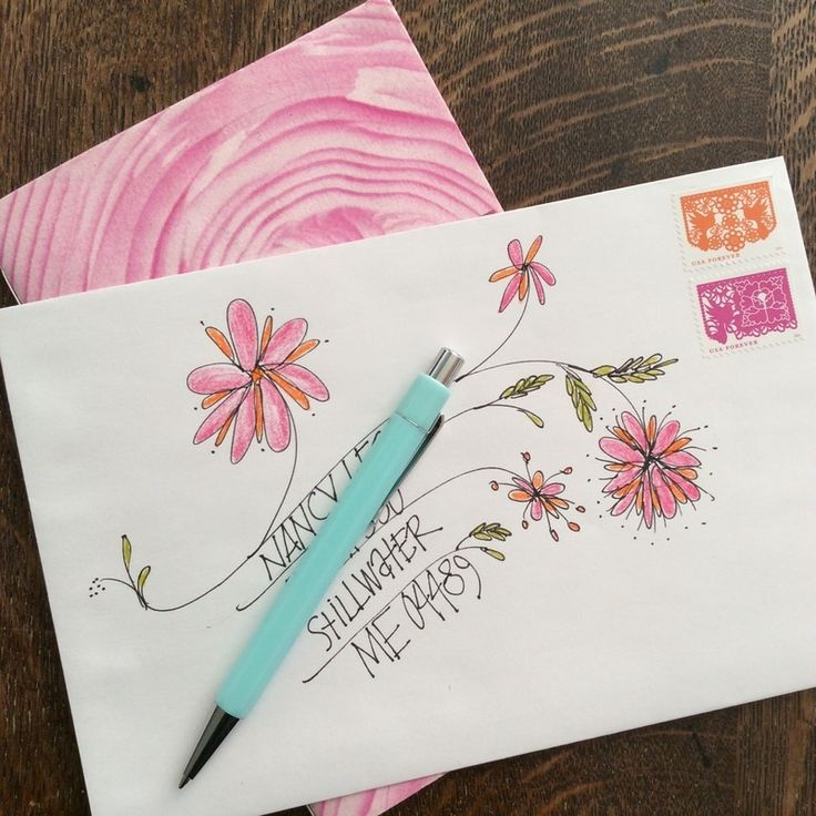 Best 25+ Decorated envelopes ideas on Pinterest | Envelope art ...