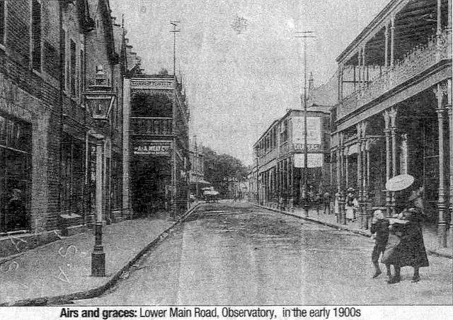 Lower Main Road, Observatory 1900s