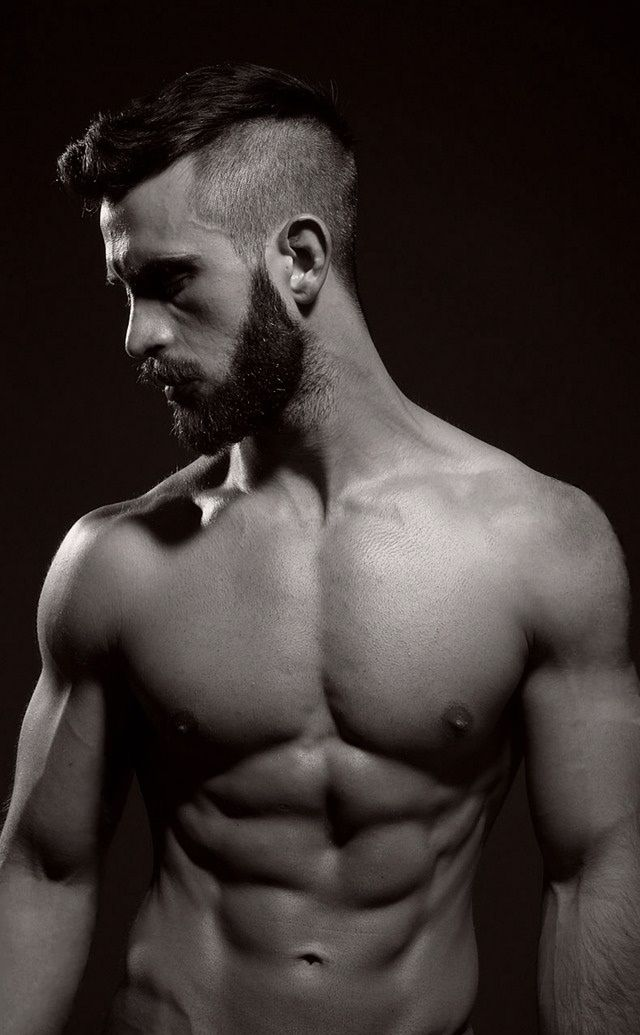 Viking Haircuts with Beards