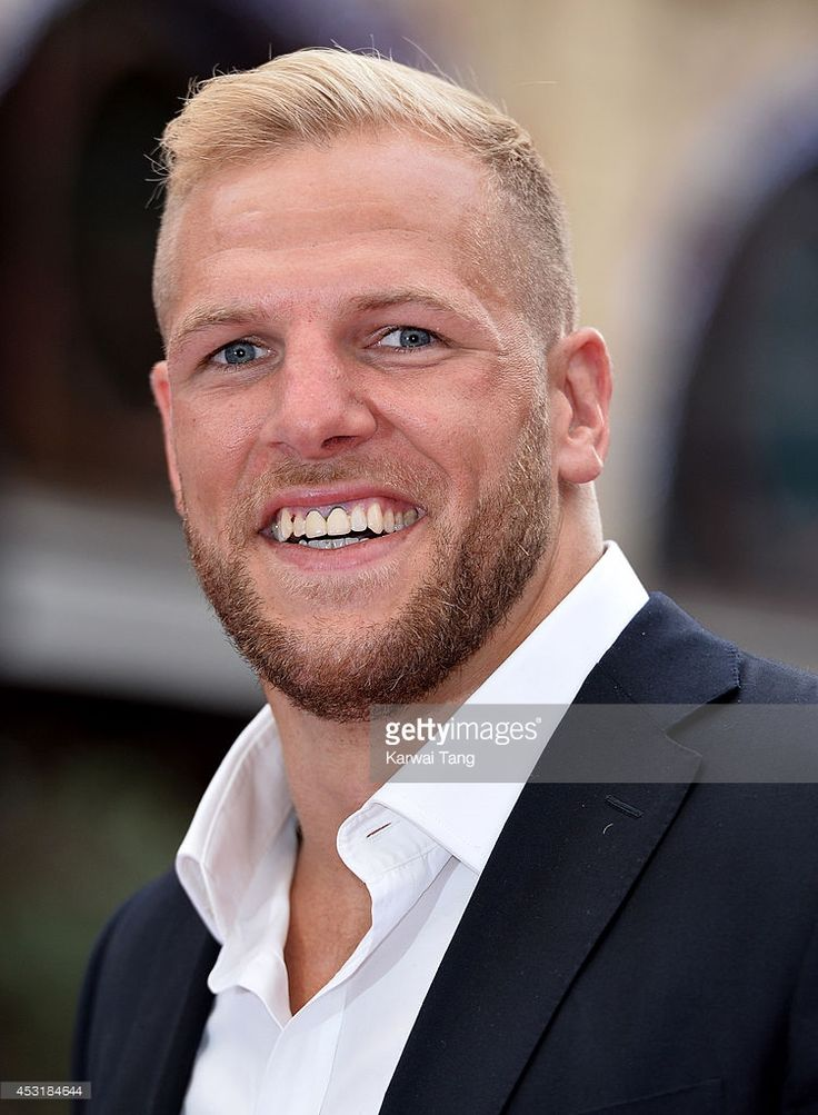 James Haskell attends the World Premiere of 'The Expendables 3' at Odeon Leicester Square on August 4, 2014 in London, England.