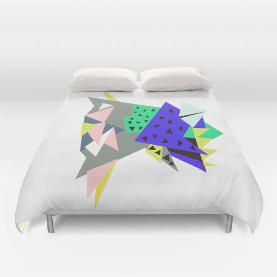 Tictoc Abyss Fish Duvet Cover