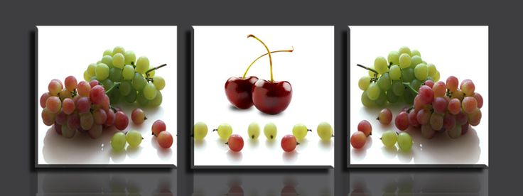 Grapes and cherry https://walldecordeals.com/3-panelsset-grapes-hd-picture-canvas-print-painting-wall-art-home-decoration-printed-painting/