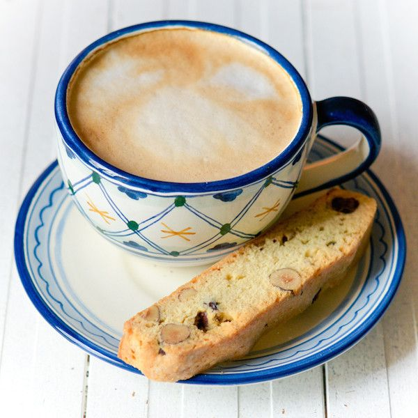 Lemon and Hazelnut Biscotti.
