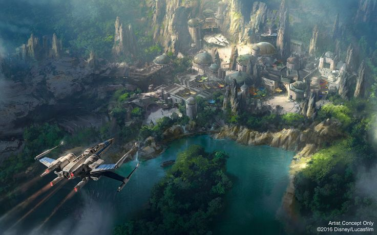 Get a First Look at Disneyland's New Star Wars Land