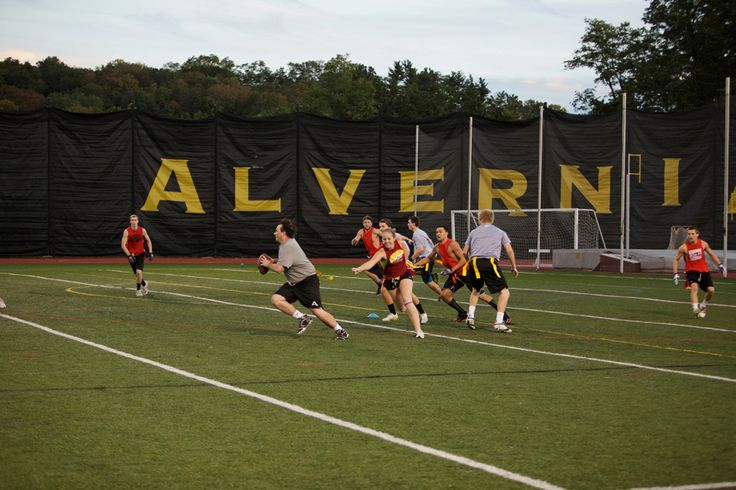 Not looking to play a #DivisionIII sport but still want to stay active and have fun? Sign you and your friends up for #intramurals at #Alvernia! Choose from flag football, volleyball, basketball, soccer and many more!