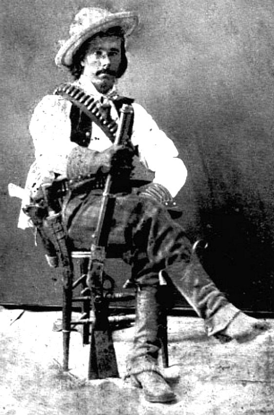"""Augustus M. """"Gus"""" Glidea, born in Dewitt County, Texas in 1854, died of natural causes at Douglas Arizona in 1935, - Lawman, cowboy and later an outlaw - He was working as a cowboy by 1866 and served as a Texas Ranger in Company D and F often fighting Indians."""