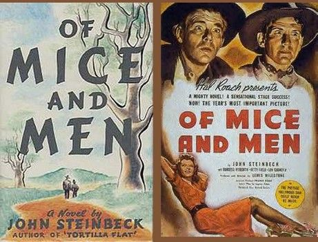 an overview of the supplemental assignment in the novel of mice and men by john steinbeck and the ca Through a brief powerpoint presentation, students will be introduced to john steinbeck, of mice and men, its characters, the setting, and the contextual background, including the great depression controversial issues – jim crow and lynch law introduction.