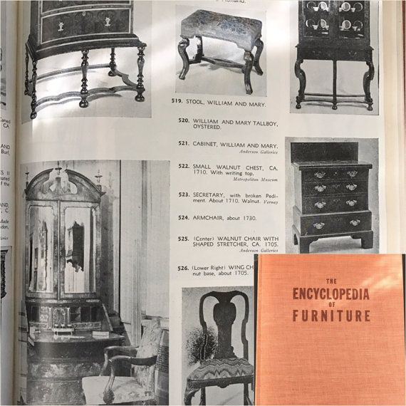 Vintage Collectible Book On Furniture Titled The Of Furniture By Joseph  Aronson With A   Aronson