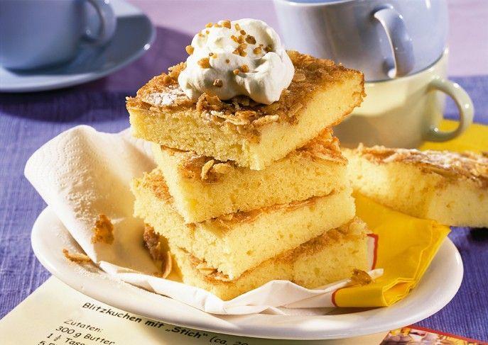 blitzkuchen r hrteig mit mehr ei und mandel butter zucker kruste einfach und schnell http. Black Bedroom Furniture Sets. Home Design Ideas