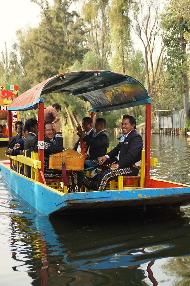 The Venice of Mexico - Xochimilco                              http://hostmyniche.com/learnspanish/