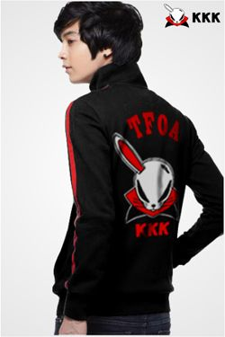 Jaket Crows - One Eared Devil Rabbit 'KKK'