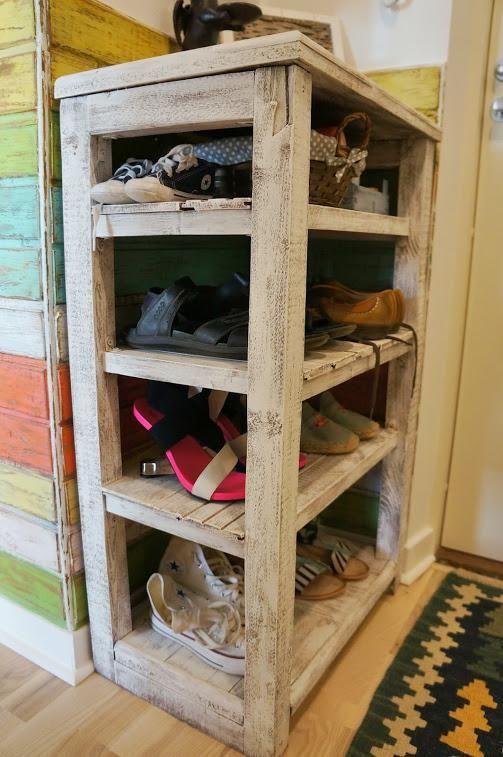 Полка для обуви своими руками, хранение обуви в прихожей