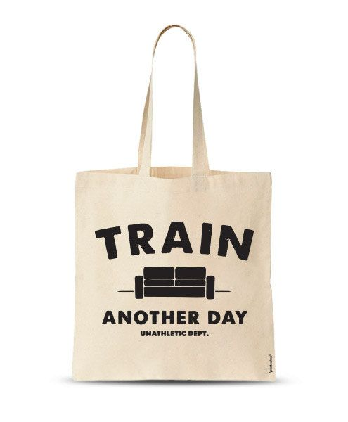 FREE SHIPPING Train another day funny Tote bag by store365 on Etsy