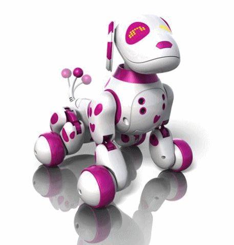 Robot Zoomer Animal intéractif Dalmatien Rose 94,00 € livré le moins cher #unhit!