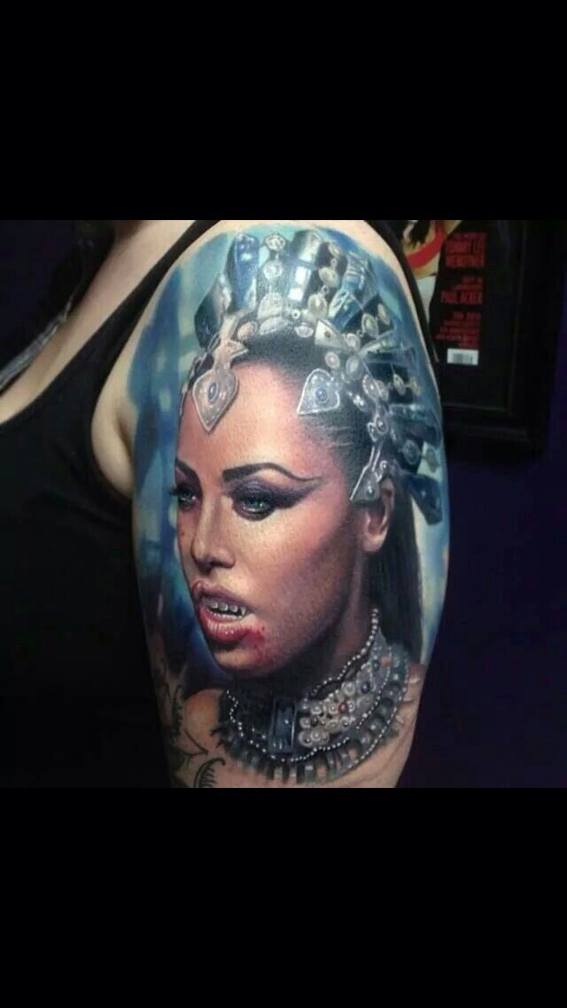 aaliyah as akasha queen of the damned tattoo ideas pinterest the o 39 jays queen of the. Black Bedroom Furniture Sets. Home Design Ideas