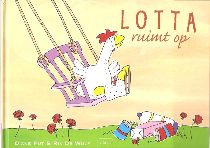 vierde prentenboek van Lotta ''LOTTA RUIMT OP'' verschenen juli 2012