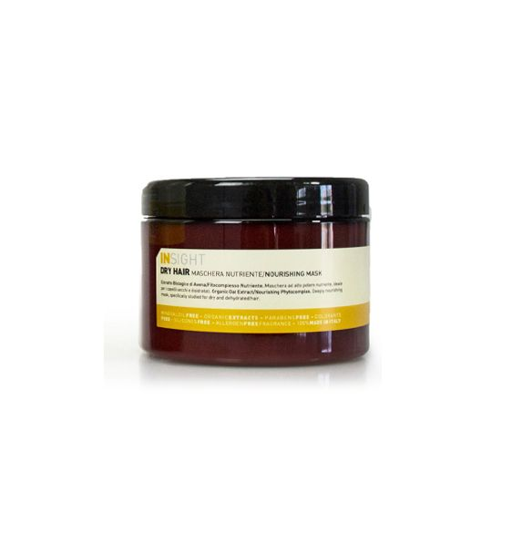 INSIGHT DRY HAIR MASK 500ml http://hairbeautycorner.gr/κατάστημα/insight-dry-hair-mask-500ml/