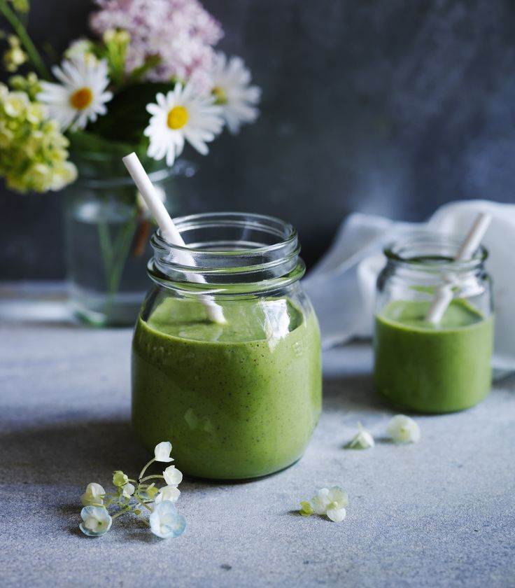 Recipes | Green Banana Coconut Smoothie | Louise Fulton Keats