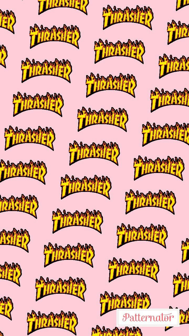 #thrasher #skate #wallpaper #skateboarding