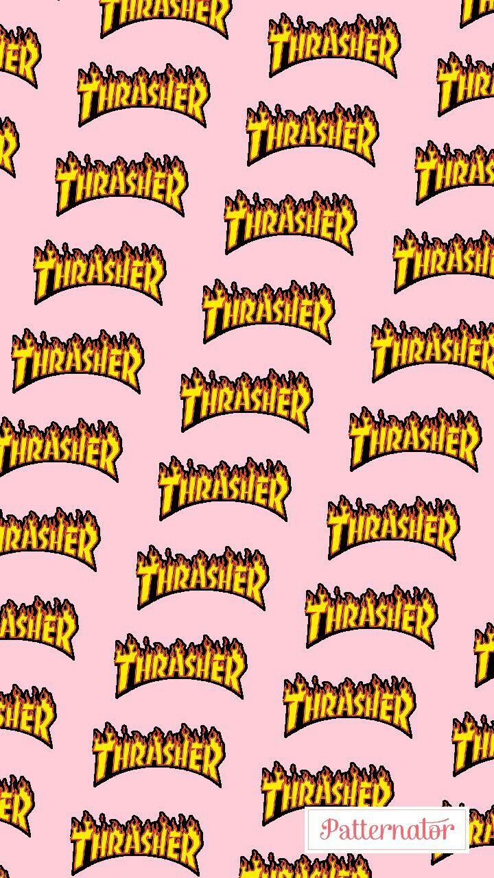 #thrasher #skate #wallpaper #skateboarding