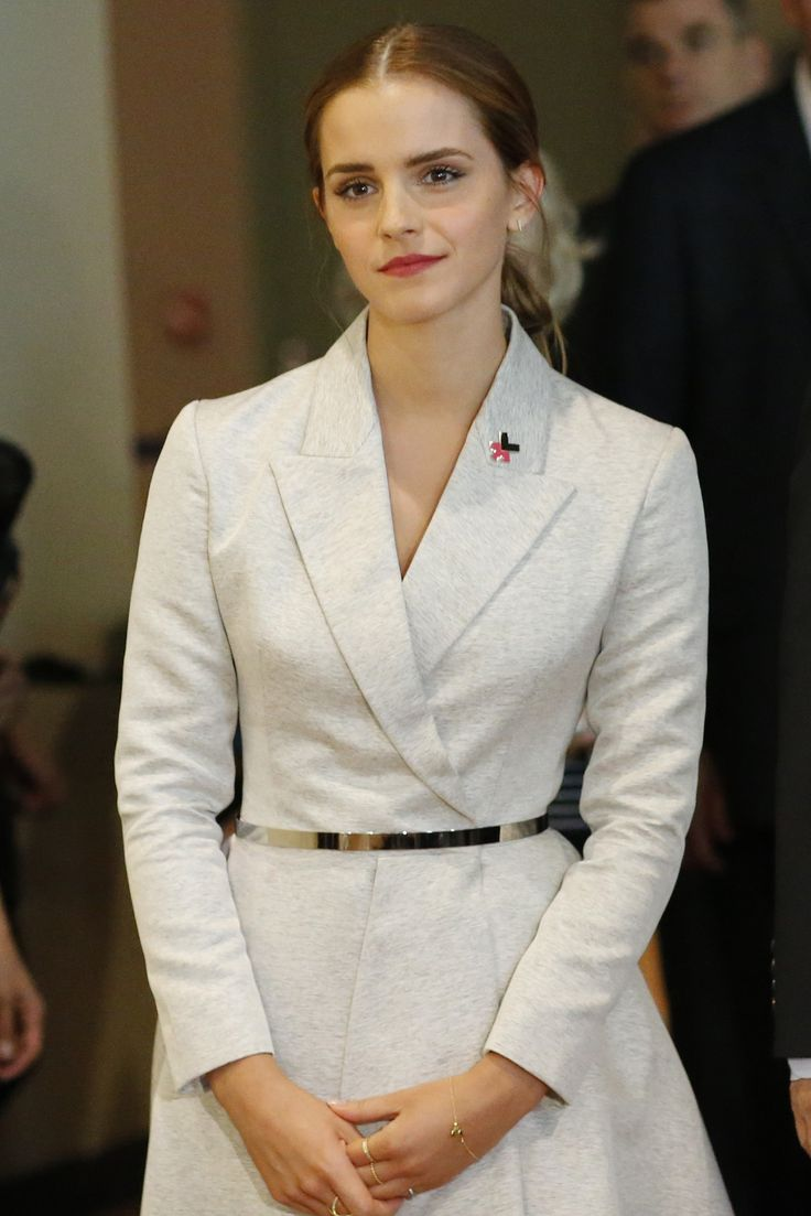"""Emma Watson UN Speech (MUST-WATCH)  """"I decided that I was a feminist and this seemed uncomplicated to me. But my recent research has shown me that #feminism has become an unpopular word. Women are choosing not to identify as feminists. Apparently, I am among the ranks of women who's expressions are seen as too strong, too aggressive, and anti-men, unattractive even.  Why has the word become such an uncomfortable one?"""" #HeForShe #LevoBrief"""