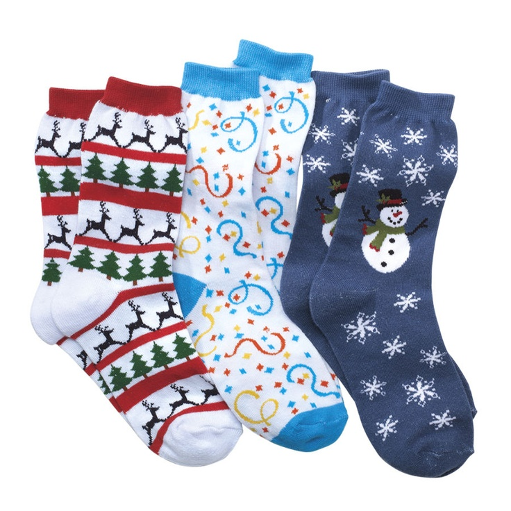 Holiday Socks - Gifts, Clothing, Jewelry, Home Decor and Home Furnishings - Unique and Affordable Gifts | Potpourri Gift