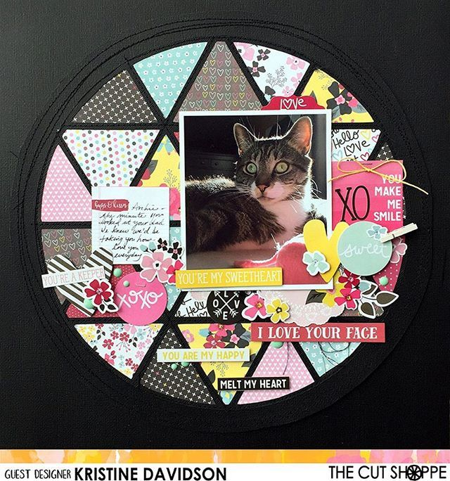 We are so excited to welcome Kristine Davidson as a guest designer on the blog today!  Kristine is sharing a wonderful layout using the newly released Geo Globe file paired with bold, dark colors and we love it!  For her adorable Valentine card Kristine used Hello Hearts cut file. Stop by the blog today to see how her projects came together!⠀ #thecutshoppe #etsy  #diecuts #digitalcutfiles #diecutmachine #cutfiles #png #silhouettecameo #scrapbooking #scrapbooklayout #papercrafts…