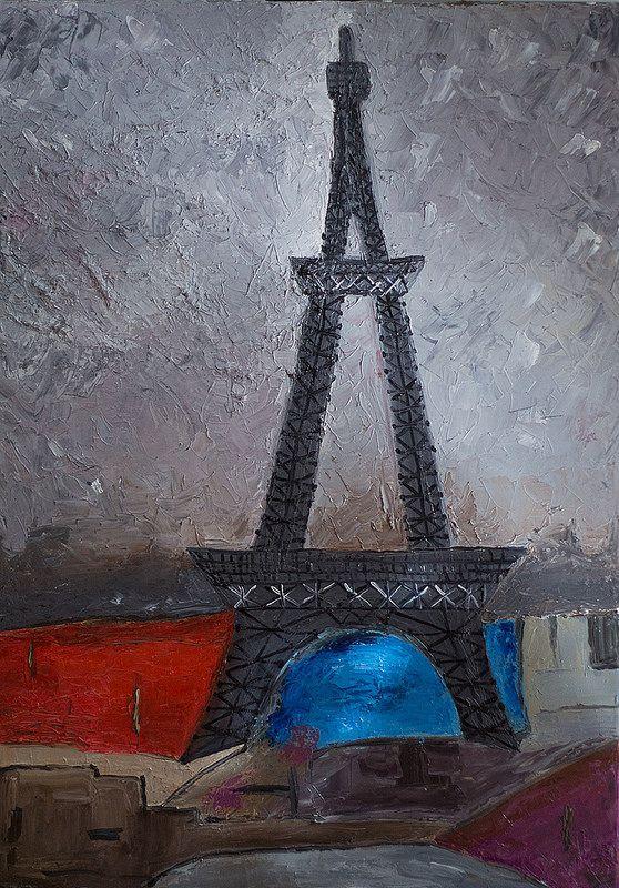 Oil Painting Reproduction unknown master (50*70 oil/canvas, 2014) Копия картины c репродукции неизвестного автора 50*70, холст/масло, 2014г © chuprovart