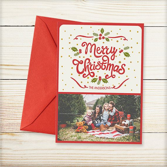 The 25+ best Christmas photo card template ideas on Pinterest - christmas card word template