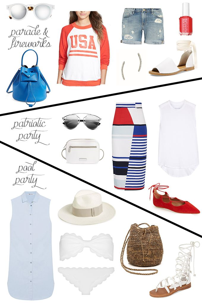 3 Looks for Your 4th of July