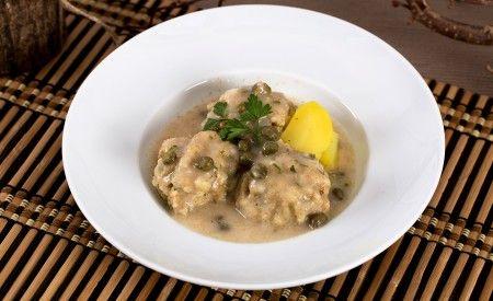 Hier finden Sie ein veganes Rezept für die Zubereitung von Veganen Königsberger Klopse mit Kapernsauce. Köstlicher Geschmack für vegan lebende Menschen.