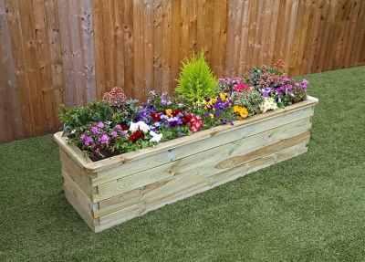 Narrow Sleeper Raised Bed 1800mm x 450mm