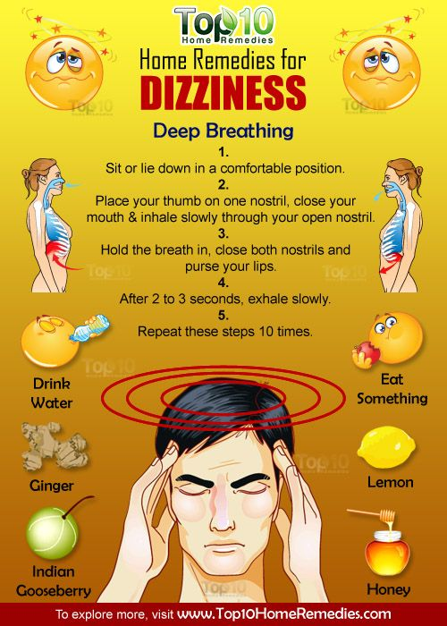 Home Remedies For Dizziness Health Home Remedies