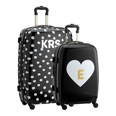 The Emily Amp Meritt Hard Sided Luggage Bundle Set Of 2 In