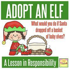 You have heard of elf on the shelf and the kindness elf. But have you heard of adopting a Christmas elf? These fun printable activities will help your students learn responsibility, along with some writing practice and lots of creativity! Your students will get to name their elf, give it a birth certificate, make a baby book and even help it fill out a job application! So much fun and Christmas magic for your preschool or elementary students!