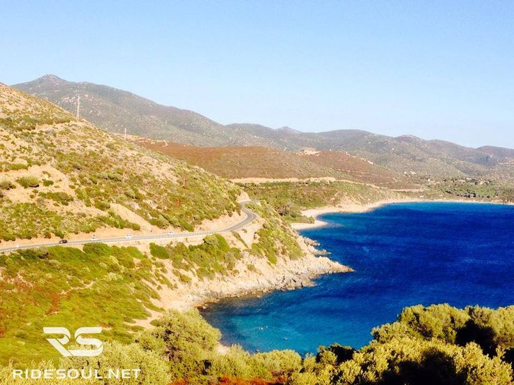 The Pacific Coast Highway? No, it's the Alghero-Bosa! #motorcycle #tour #italy