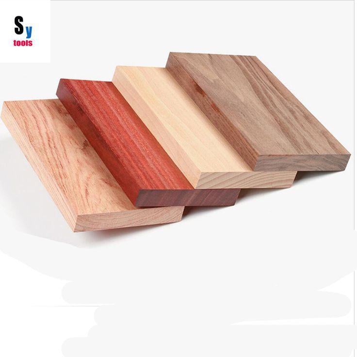Sy herramientas Materias Primas de madera DIY producir bandejas de Comida 200*110*20mm (1 unidades) de la nuez teca de haya