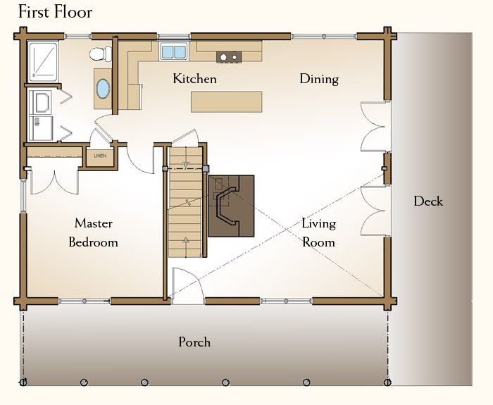 9 best cabin floor plans images on Pinterest | Cabin floor plans ...