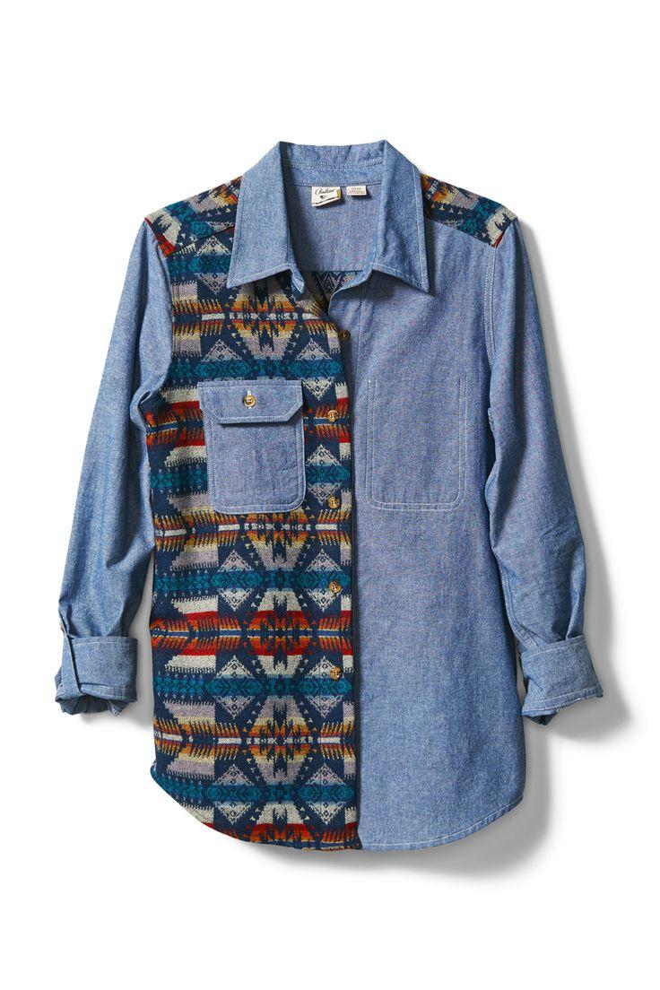 ROXY x Pendleton. Two Time Board Shirt