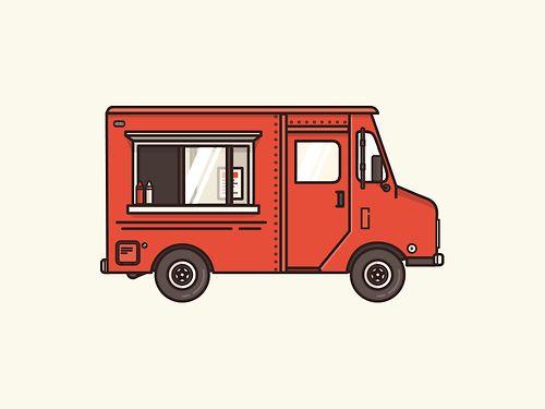Food Truck Vector Png