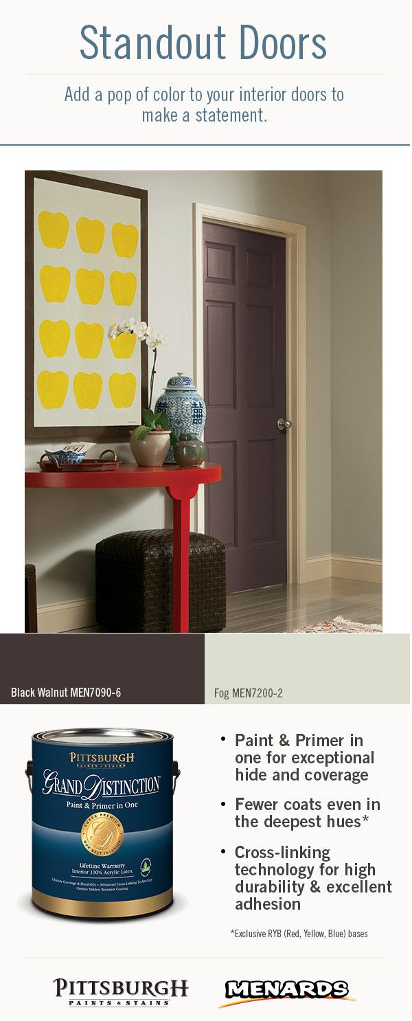 1000 Images About Standout Interior Door Paint Colors On Pinterest Stains Paint Colors And Gray