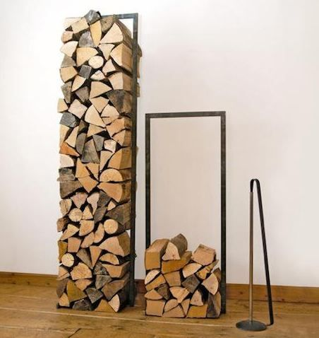 Fireplace wood holder - 17 Best Images About Wood Fire Place On Pinterest Modern