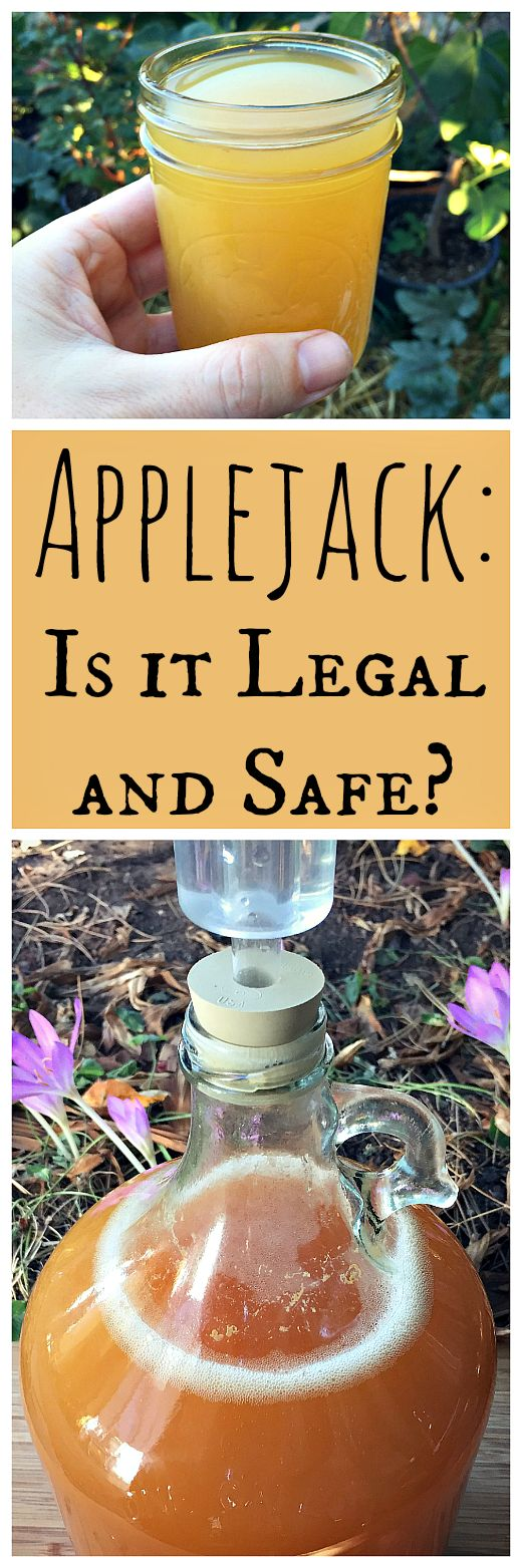Applejack is a process of concentrating hard cider that has been around for hundreds of years. But it is legal and safe?