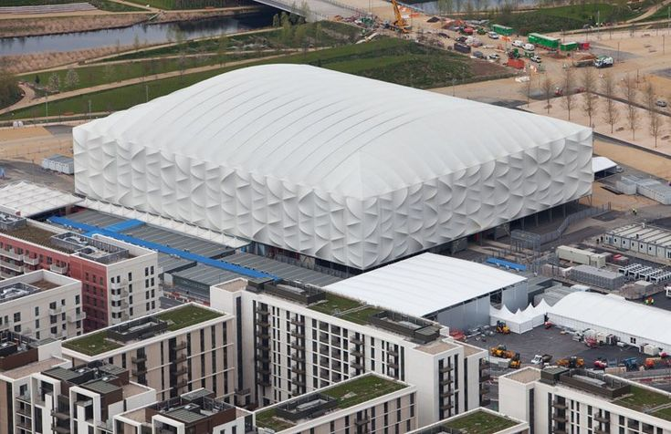 London 2012 Olympic Basketball Arena, London, 2012 - Wilkinson Eyre Architects