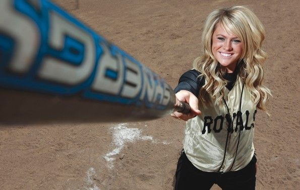 Softball Team Picture Poses | Blonde Showstopper: Roy ace Flint earns softball All-Area MVP honors