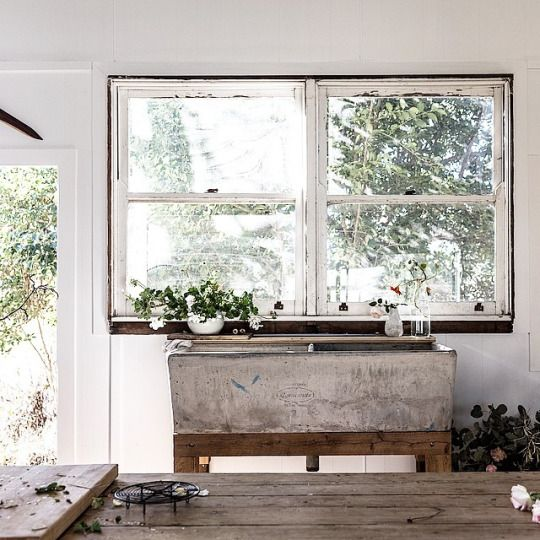 That sink!!! The essence of simple.