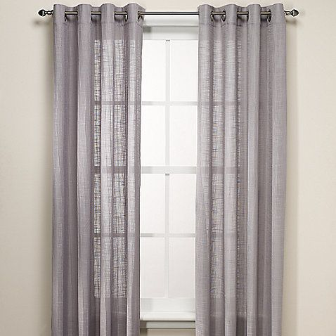 Bed Bath And Beyond Canvas Curtain Panels